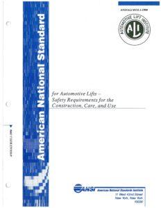 Automotive Lift Safety
