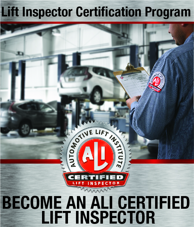 ALI Lift Inspector Certification Program Registration