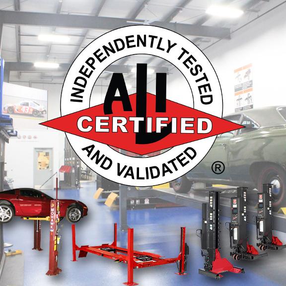 ALI certified Lift directory certified